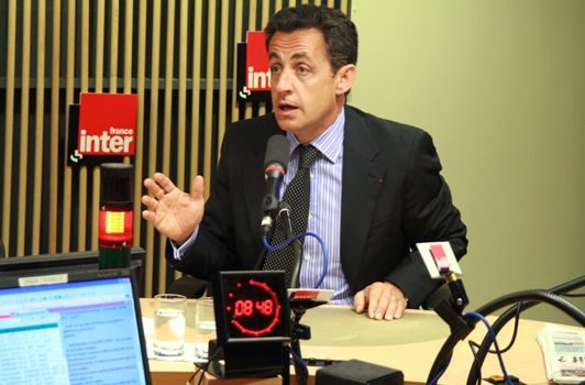 Sarkozy - France Inter - Préfet Indre/Carignon