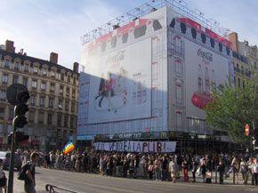 Place Bellecour à Lyon