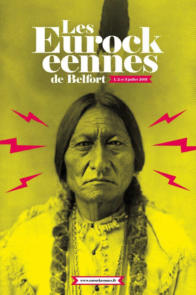 Affiche Eurockéennes de Belfort