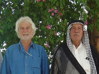Patrice Claude avec Cheikh Fayad, 2004