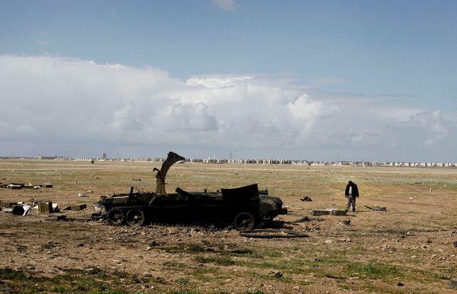 Libye - Laurent van der Stockt