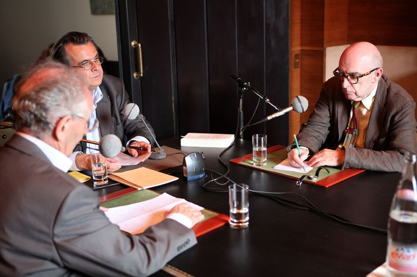 Alain Berthoz, Philippe Petit, Roland Recht