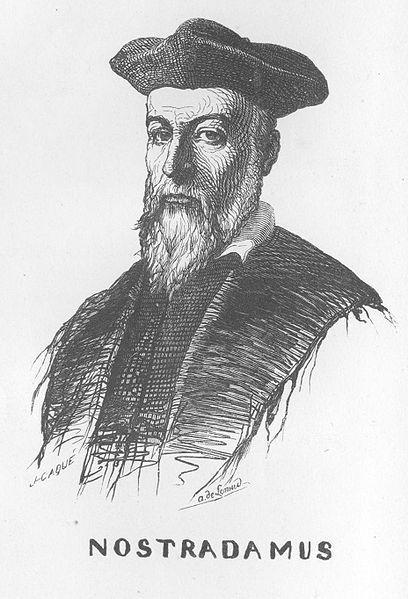 Nostradamus, dans Eugène Bareste's Nostradamus, Paris, 1840
