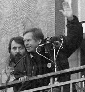 Havel le 10 décembre 1989 - H 300