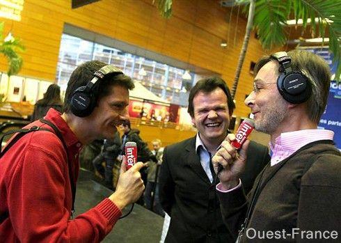 avec F Xavier Roth et G Courchelle, à Nantes