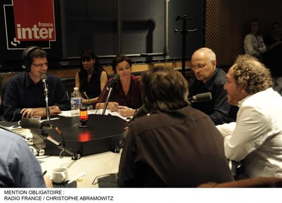 VJ, Eva Bettan, l'éditeur Actes Sud, M Enard, M Dugain, G Gallienne, comédien
