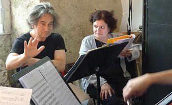 Olivier Dejours et Marguerite Gateau.
