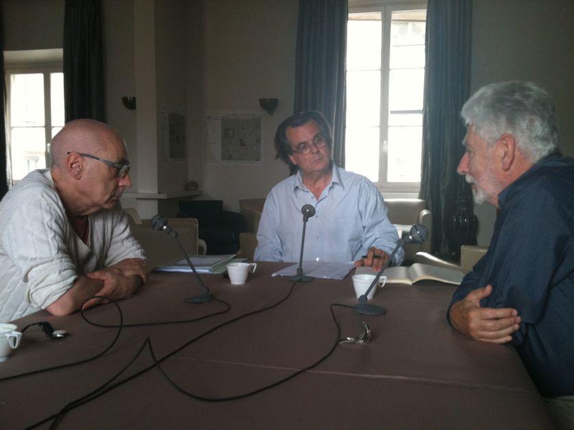 Alain Prochiantz, Philippe Petit, Philippe Descola
