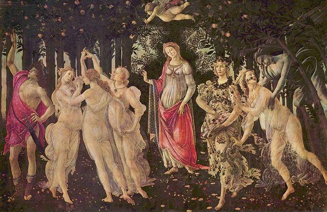 Le printemps de Botticelli
