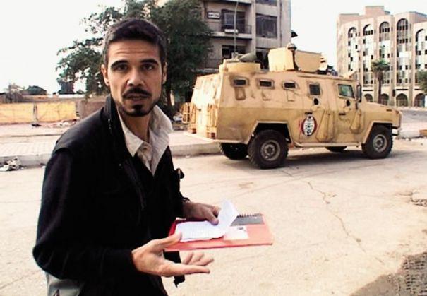 Paul Moreira en reportage en Irak