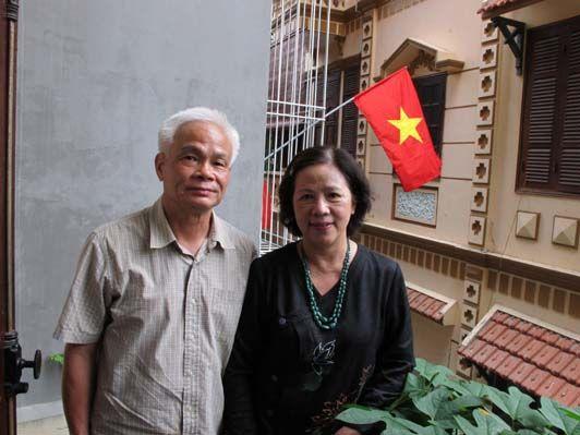 Le père et la mère de Ngo Bao Chau