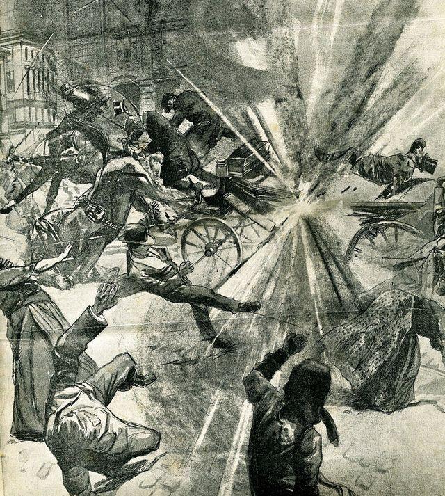 Attentat de Saint-Pétersbourg sur Plehwe