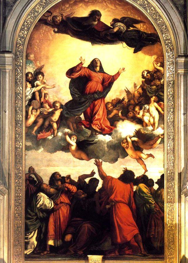 L'assomption de la vierge - Le Titien