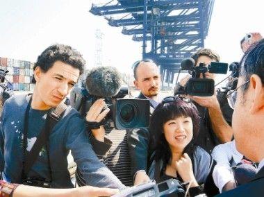 François Bougon à la une du quotidien chinois Shenzhen Daily