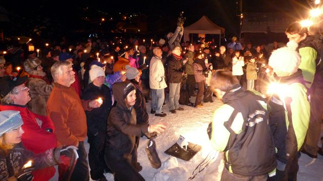 Samedi 10 janvier 2009, rassemblement en soutien à la candidature de Pelvoux