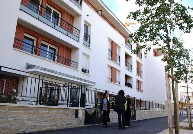 L'un des quartiers rénovés de Clichy-sous-Bois