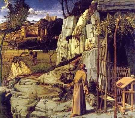 L'extase de St François d'Assise