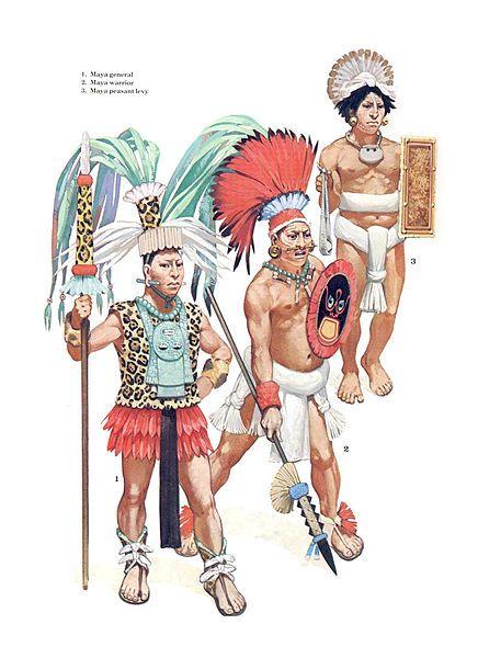 Guerriers Maya