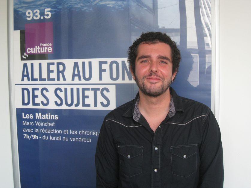 Sébastien Roux, chargé de recherches au CNRS