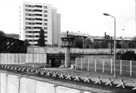 Le Mur de Berlin en 1980