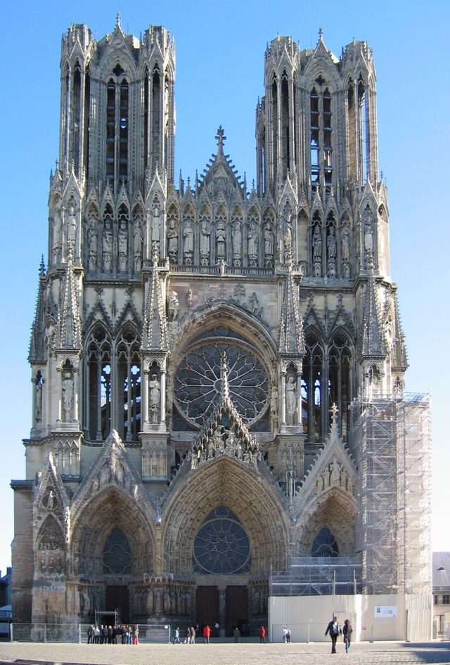 Cathédrale Notre-Dame de Reims France-PerCorr