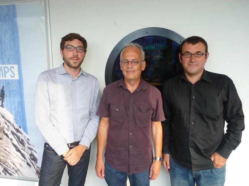Ludovic Piedtenu, Marc Abélès et Rémi Lefebvre