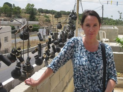Dorothée Ollieric en Cisjordanie