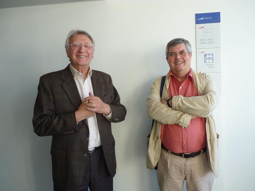 Bernard Derozier et Gérard Cornilleau