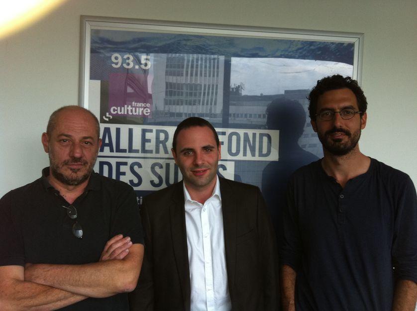 De gauche à droite : François Bès, Stéphane Jacquot et Matthieu Bonduelle