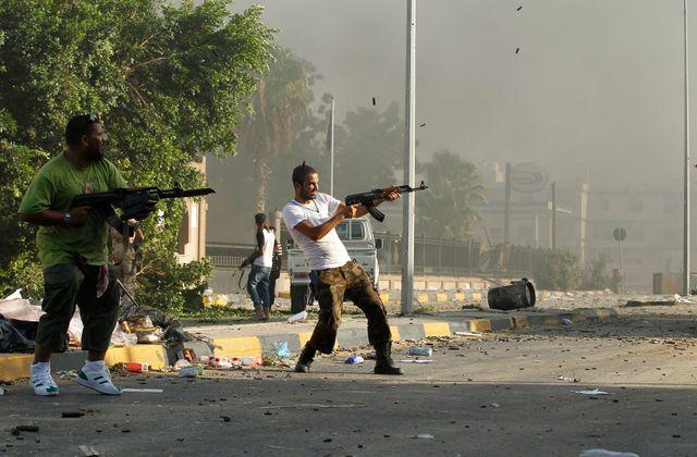 combats à Abou Salim