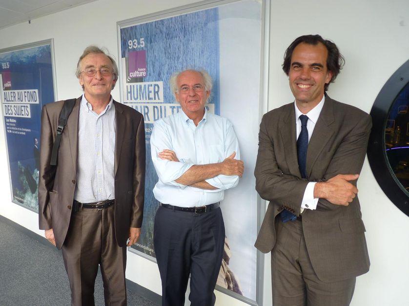 Robert Boyer, Roger-Pol Droit et Philippe Dessertine