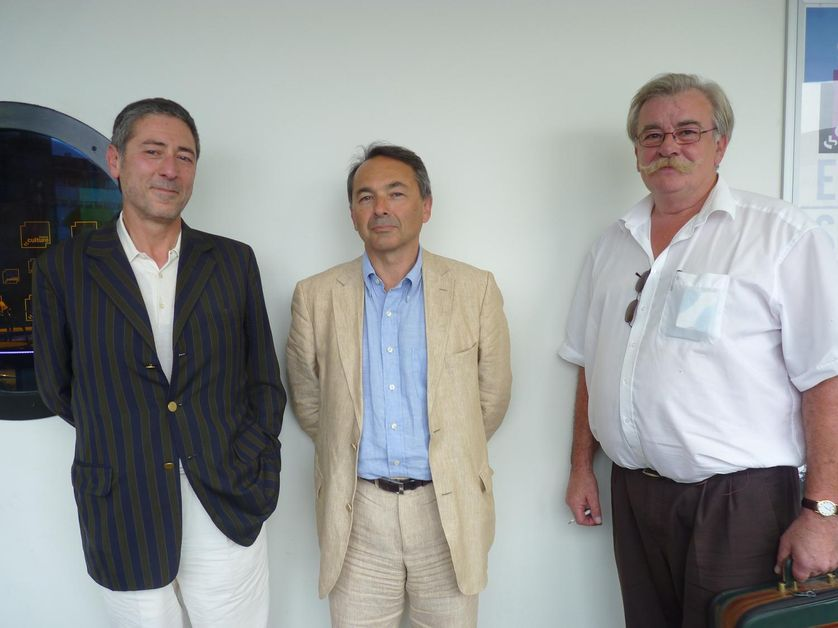Percy Kemp, Gilles Kepel et Georges Lefeuvre