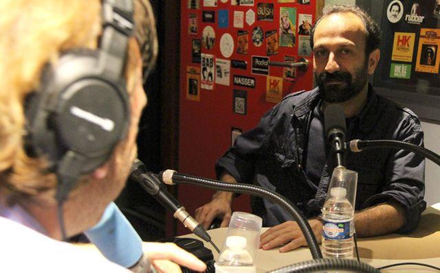 Asghar Farhadi et François Busnel