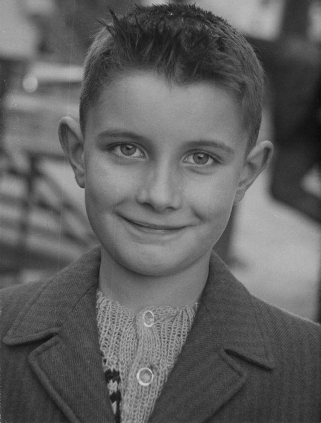 Bernard Faucon à 6 ou 7 ans