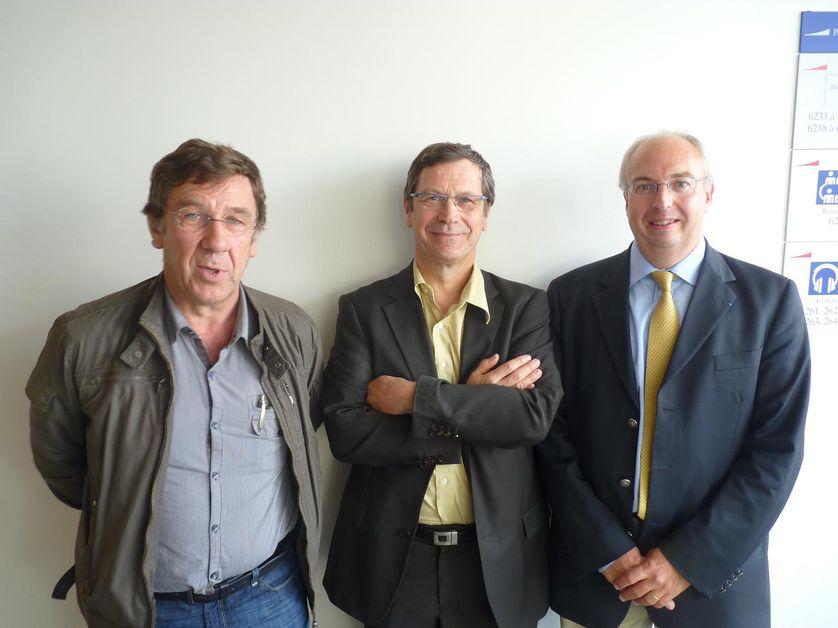 Philippe Collin, Robert Levesque, Valéry Elisseeff