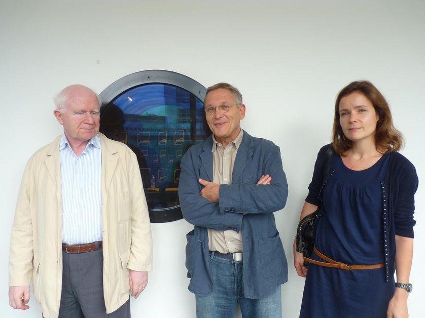 Alain Gascon, Rony Brauman et Valérie Daher