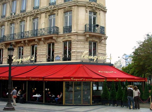 Le Fouquet's à Paris