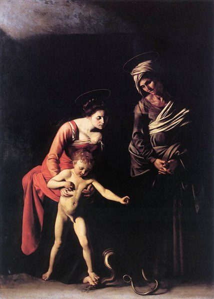La vierge des Palefreniers