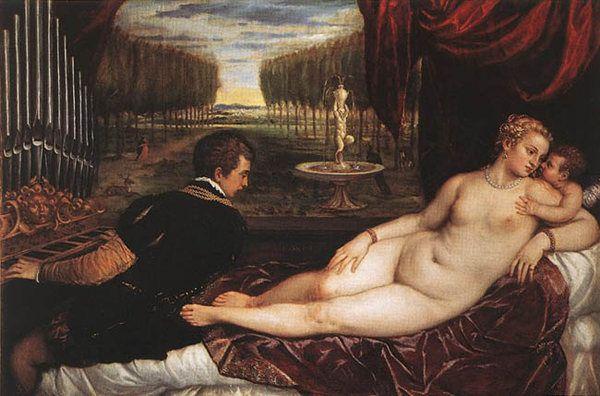 Vénus et l'organiste