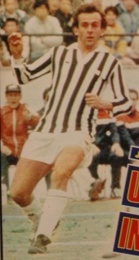 Michel Platini à la Juventus en 1985