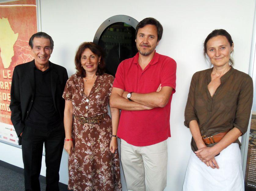 Jean-Louis Servan-Schreiber, Anne Muxel, Frédéric Sawicki, Isabelle Spaak