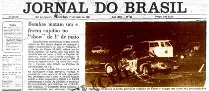 L'attentat du Rio Centro
