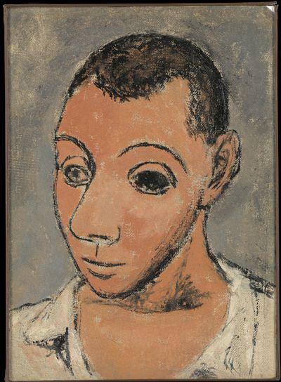Autoportrait Pablo Picasso 1906 Huile sur toile, 26.67 x 19.69 cm Metropolitan Museum of Art, New York, USA