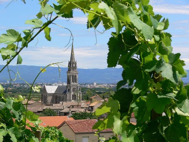 Cornas en Ardèche