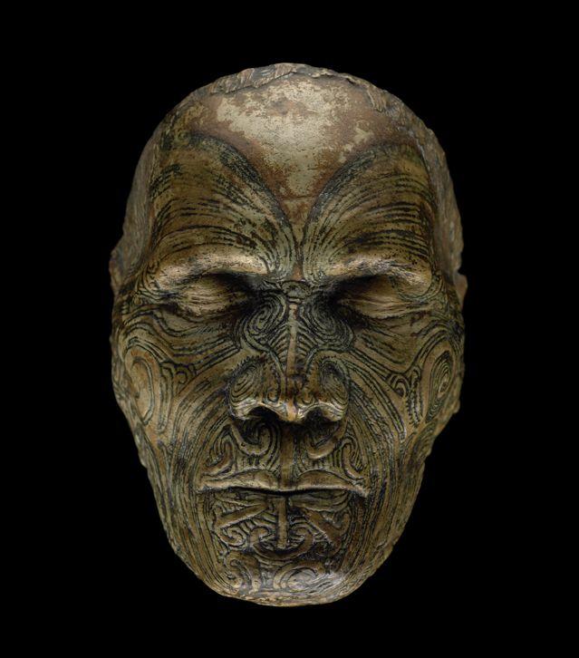 Masque de Vie de Wiremu Te Manewha