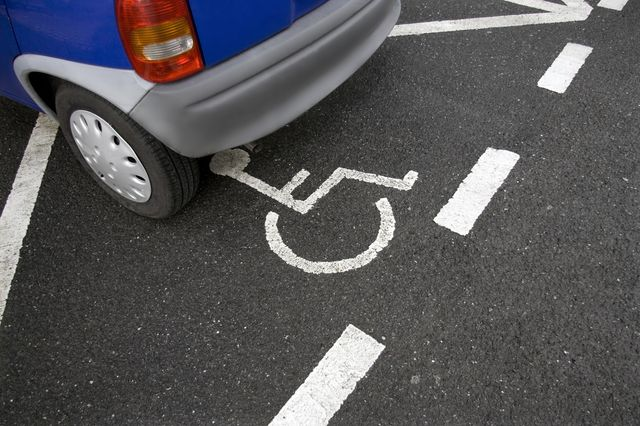 Handicapé stationnement