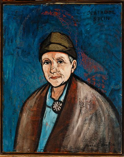 Francis Picabia Gertrude Stein, 1933 Huile, 74.93 x 60.96 cm Collection particulière c/o Concept Art Gallery, Pittsburgh