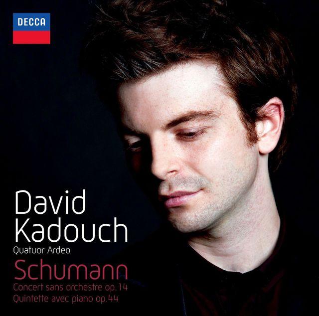 Schumann par David Kadouch, pianiste (CD Decca)