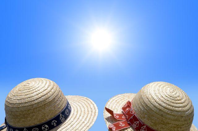 Soleil chapeau bronzage