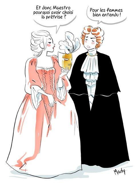 Vivaldi et les femmes par Mady Martin